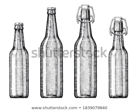 Liter glass of beer in hand Stock photo © backyardproductions