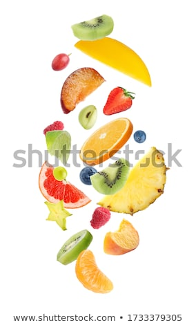Différent baies isolé blanche fruits Photo stock © digitalr