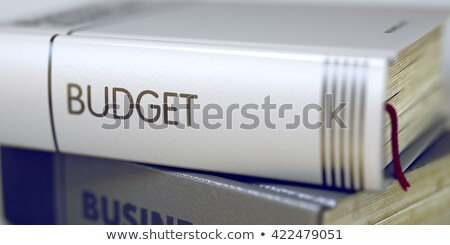 Business - Book Title. Economic Forecast. 3D. Stock photo © tashatuvango