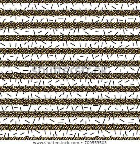 zwart · wit · horizontaal · patroon · naadloos · textuur - stockfoto © yopixart