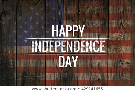 4th july Happy Independence day United State America stock photo © SaqibStudio