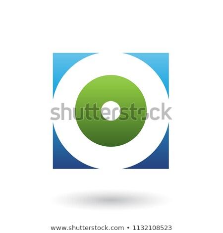 groene · icon · vector · illustratie · geïsoleerd - stockfoto © cidepix