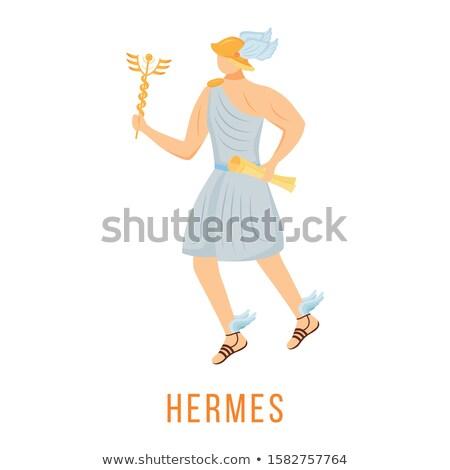 Cartoon Hermes  Idea Stock photo © cthoman