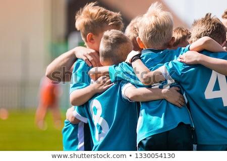 Gyerekek játék sportok játék gyerekek sportos Stock fotó © matimix