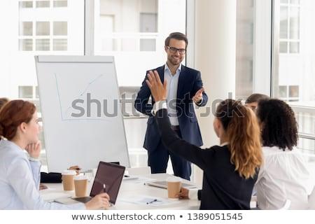Consulting trainee Foto stock © pressmaster