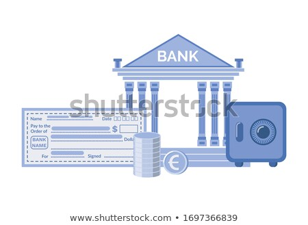 bank institution build in classic style banking stock photo © robuart