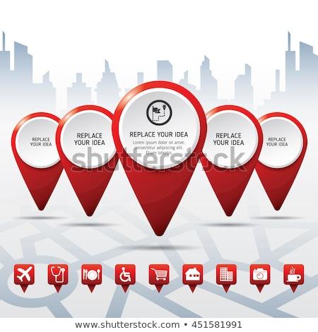 Idea Location Concept Stock photo © Lightsource