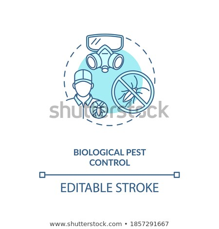 Parasite protection vector concept metaphors Stock photo © RAStudio