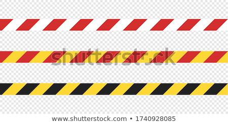 Set of Restriction Tapes Stock photo © kostins
