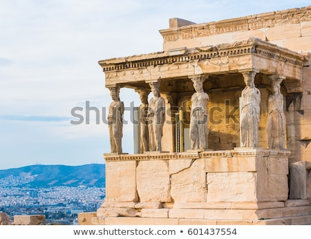 Caryatids, Athens Stock photo © fazon1