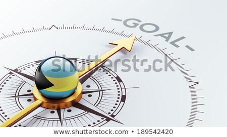 Célok szalag gól üzlet siker nyitva Stock fotó © natali_brill