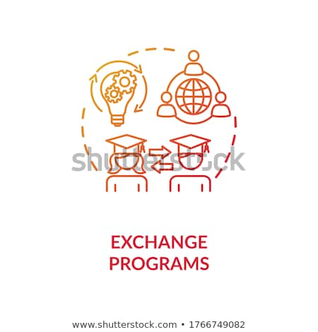 Student exchange program vector concept metaphor Stock photo © RAStudio