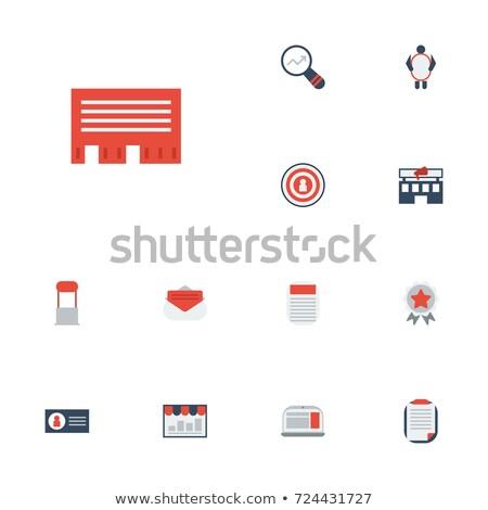 dardo · promoción · sello · imagen · flecha · objetivo - foto stock © DamonAce