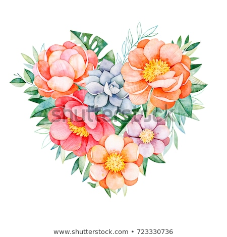 Leafy Heart  stock photo © fotomine