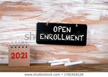 enrollment Stock photo © joker