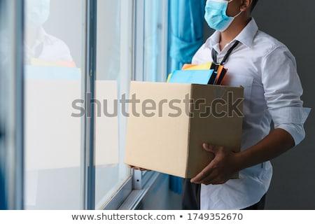 Stock fotó: Munkanélküliség · foglalkoztatás · sok · állástalan · emberek · néz