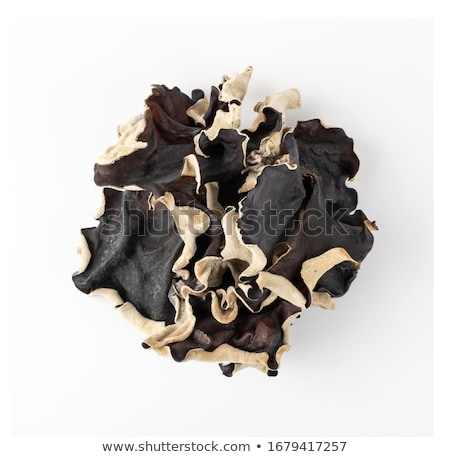 dried black fungus Stock photo © zkruger