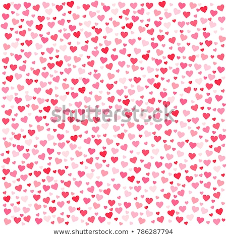 Heartshaped wallpaper-pattern with texture stock photo © MilosBekic