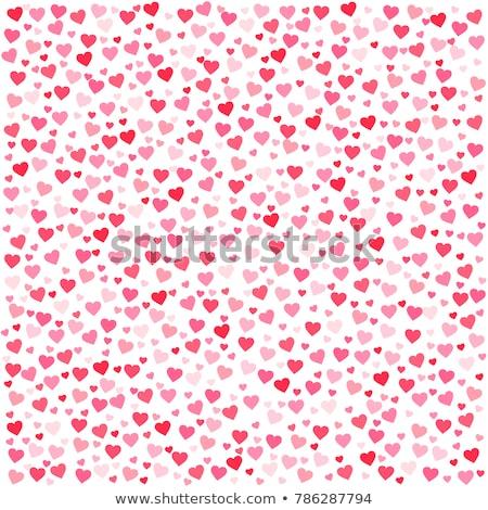 Doku kâğıt sevmek soyut kalp arka plan Stok fotoğraf © MilosBekic