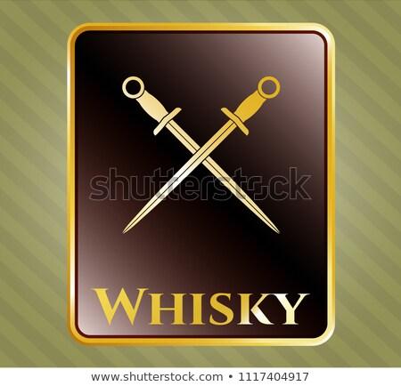 scotch warrior with sword stock photo © zastavkin