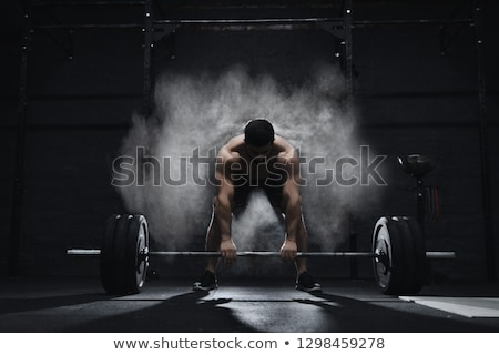athlete power lifter stock photo © sahua