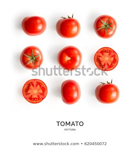 vermelho · fresco · abstrato · isolado · branco - foto stock © boroda