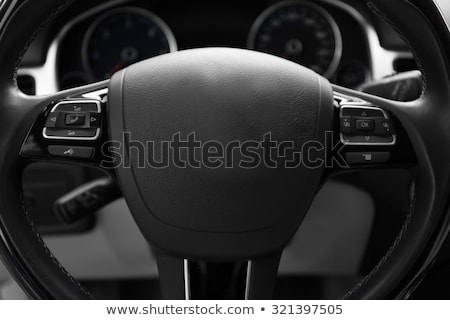 car steering wheel and instrument panel Stock photo © mtoome
