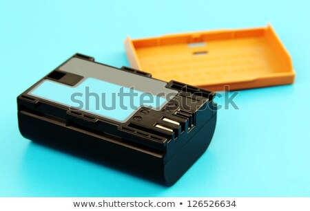 Foto stock: Battery Pack For Photo Camera