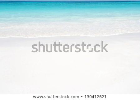 Rippled white sand surface Stock photo © ozaiachin