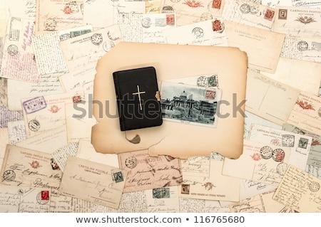Levél Vatikán iroda papír absztrakt terv Stock fotó © perysty