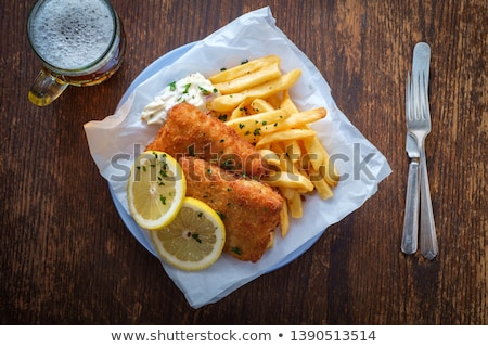 Fish 'n Chips Stock photo © Undy