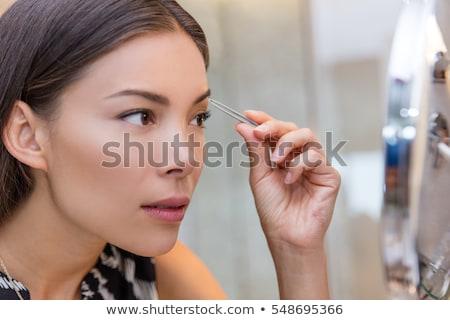 眉毛 · 写真 · 若い女性 · スパ · 女性 · 美 - ストックフォト © photography33