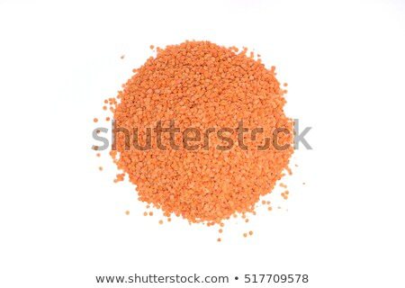 Pile of lentils, beans and red lentils Stock photo © elly_l