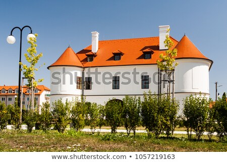 Aristocratic country house in Slovakia Stock photo © hraska