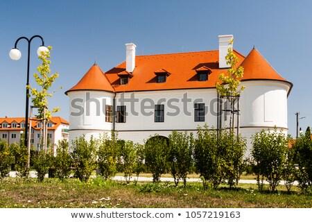 aristocratic country house in slovakia stock photo © hraska