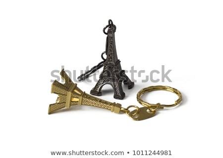 Eiffeltoren · sleutels · ander · achtergrond · reizen · sleutel - stockfoto © Bunwit
