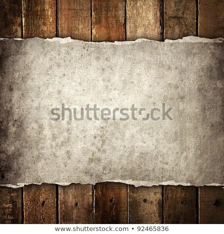лист · бумаги · изолированный · белый · документа · мусора - Сток-фото © inxti