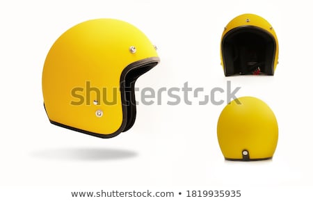 yellow motorcycle stock photo © arenacreative