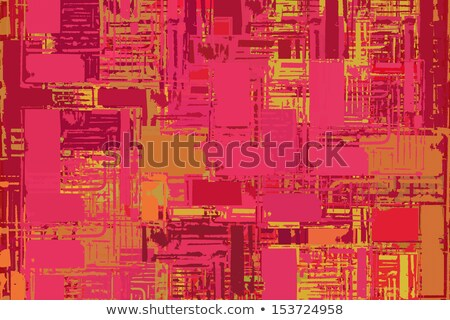 abstract stacked pink composition with torn paper edges Stock photo © Melvin07