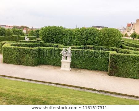 Monuments jardins Vienne Autriche bâtiment école Photo stock © tannjuska
