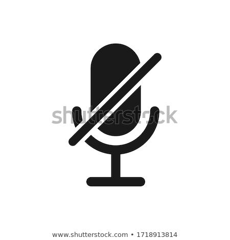 Silenziare silenzio bianco ragazza Foto d'archivio © Studiotrebuchet