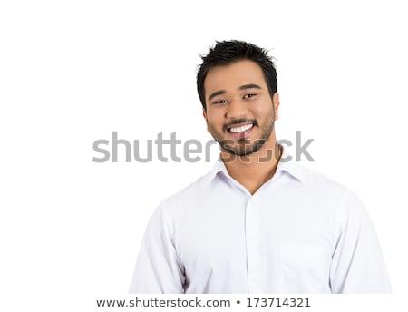 Portrait hispanique énergique jeunes homme d'affaires affaires Photo stock © pxhidalgo
