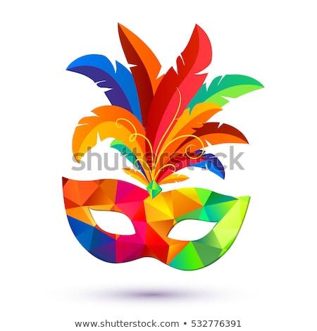 Velencei karnevál maszkok színes Velence Olaszország Stock fotó © FER737NG