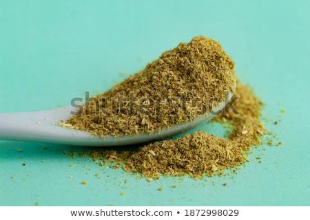 secas · terreno · temperos · cerâmico · colheres · decorativo - foto stock © juniart