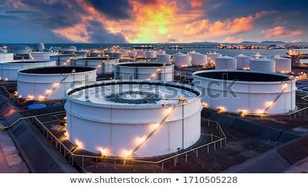 magazijn · vrachtwagens · opslag · vervoer · gebouw - stockfoto © nejron