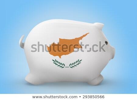 богатых банка флаг Кипр Сток-фото © vepar5