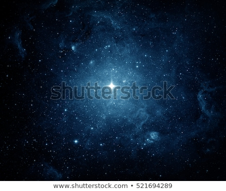 universe filled with stars and planet stock photo © zhukow