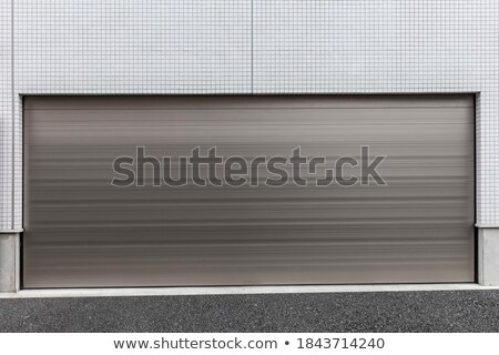alumínio · porta · de · entrada · metálico · segurança · mobiliário · arquitetura - foto stock © nalinratphi