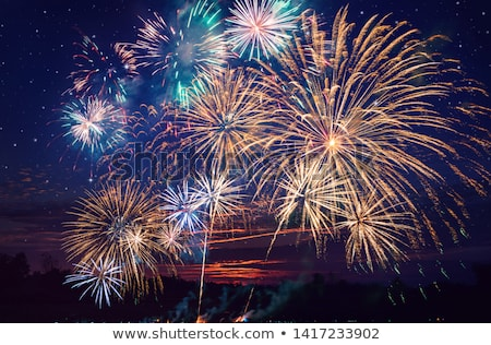 beautiful fireworks show Stock photo © Mikko