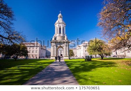 ház · Dublin · Írország · épületek · építészet · kapu - stock fotó © prill